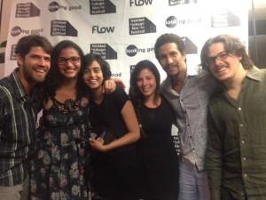Gabriel Valencia, Leticia Tonos, Natalia Cabral, Yanillys Pérez, Ivan herrera y Oriol Estrada en el Trinidad + Tobago Film Festival 2014